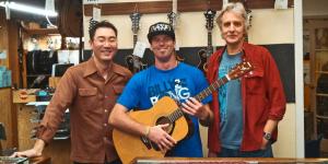 Gryphon Guitar Strings, Guitar Corps, Donated Guitars for Veterans