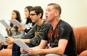 A recent Heroes' Voices Workshop